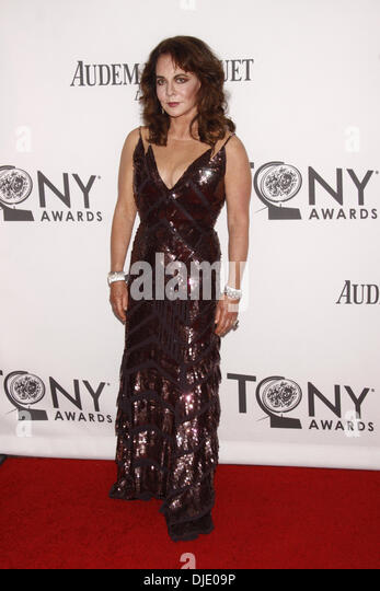 Stockard Channing The 66th Annual Tony Awards, held at Beacon Theatre - Arrivals New York City, USA - 10.06.12 - Stock Image