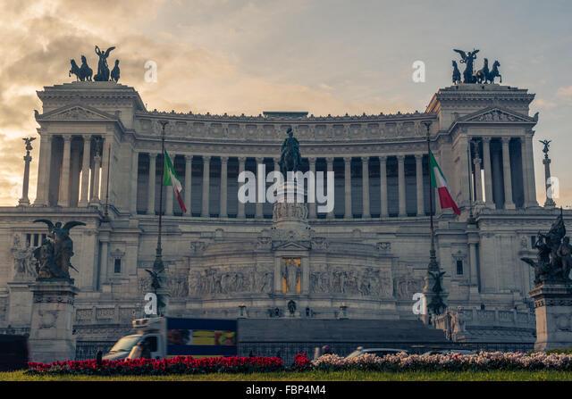 Rome, Italy: Vittoriano - Stock-Bilder