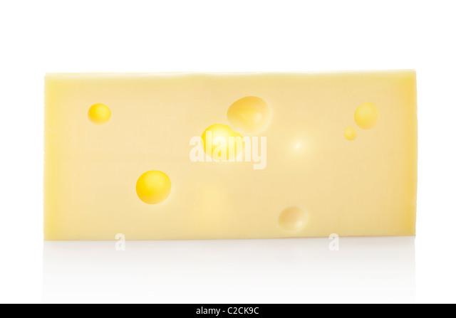 Swiss cheese - Stock Image