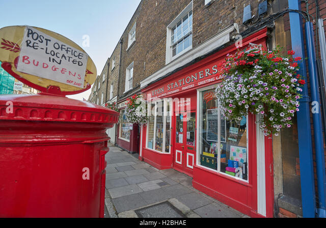 Eton stationary shop - Stock Image