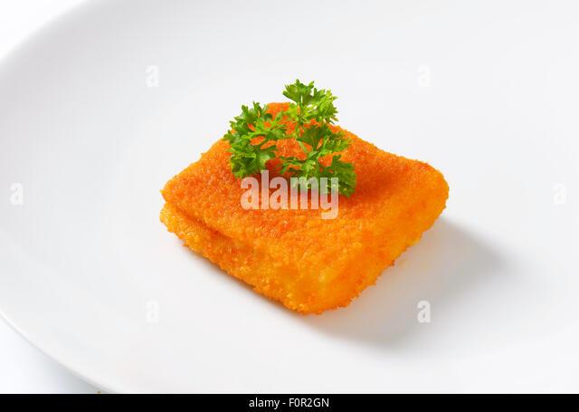 Crispy breadcrumbs stock photos crispy breadcrumbs stock for Piece of fish