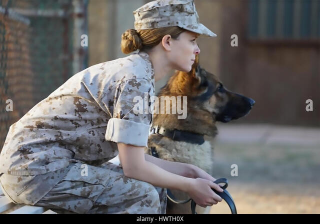MEGAN LEAVEY 2017 LD Entertainment film with Kate Mara - Stock-Bilder