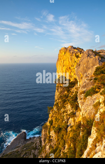 Cap de Formentor, Mallorca, Balearic Islands, Spain - Stock Image