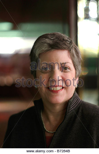 WASHINGTON DC Nov 07 Arizona Gov Janet Napolitano at the Washington Hilton A Democrat she is the 21st governor of - Stock Image