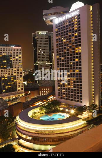 Pan pacific singapore stock photos pan pacific singapore for Five star hotels in singapore