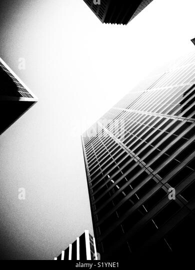 San Francisco skyscrappers, California, USA - Stock Image