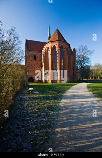Kloster Chorin (Chorin Monastery), Germany, Europe - Stock-Bilder