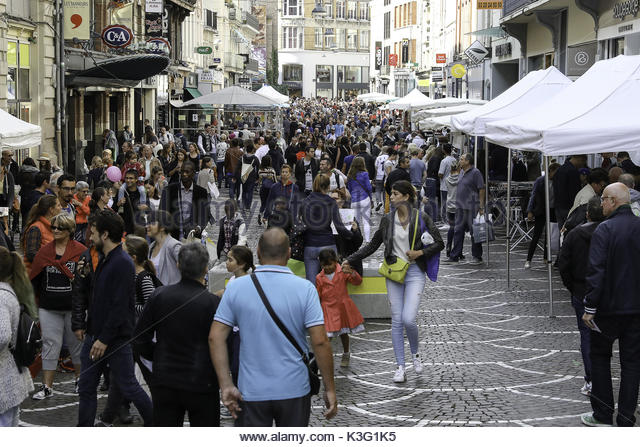 Braderie lille stock photos braderie lille stock images alamy - Braderie lille 2017 date ...