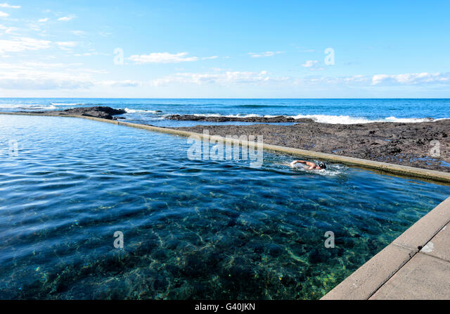 Blue pool new south wales stock photos blue pool new south wales stock images alamy for Swimming pools central coast nsw