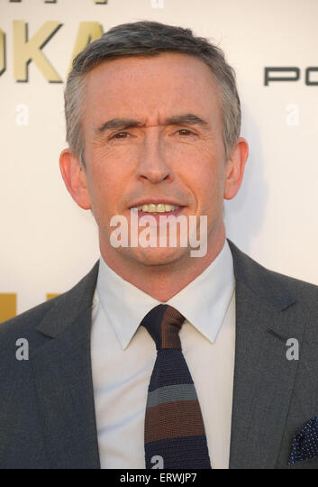 Actor Steve Coogan, Los Angeles, CA - Stock Image