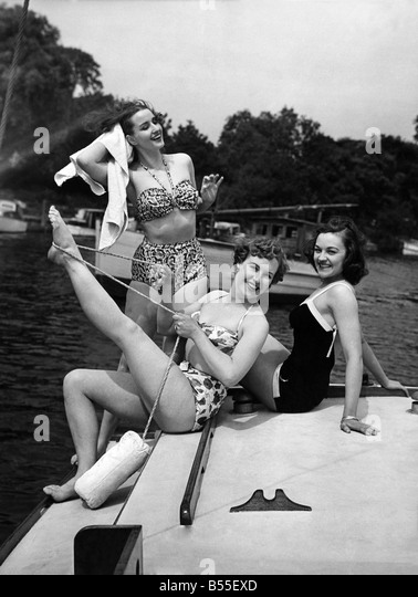 Fashion 1950's. P008712 - Stock Image