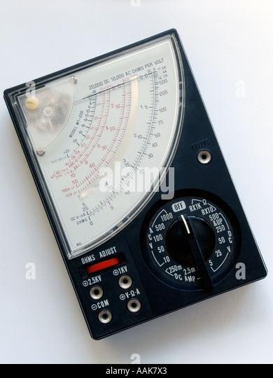 Analogue Multimeter - Stock Image