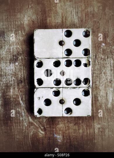 Domino - Stock-Bilder
