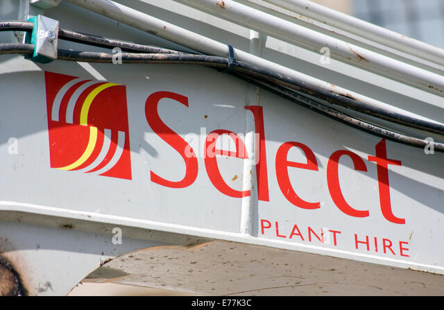 Select Plant Hire - Stock Image
