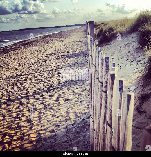 Walberswick beach - Stock-Bilder