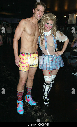 Matthew Morrison  Backstage at Broadway Bares 18
