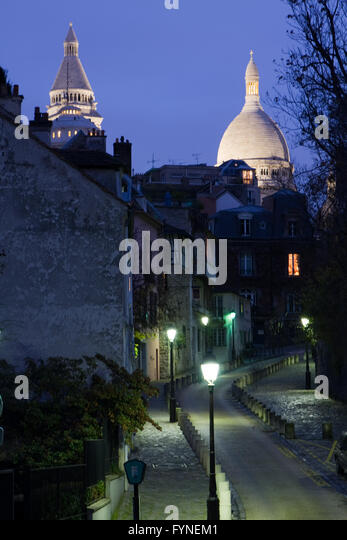 Montmartre Paris France - Stock Image