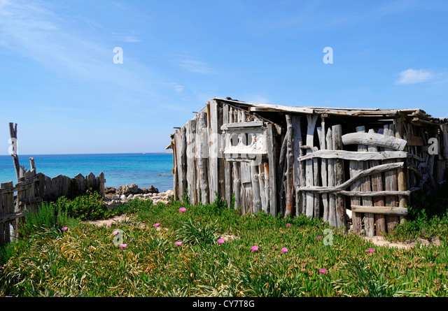 Old fishermen's house - Stock Image