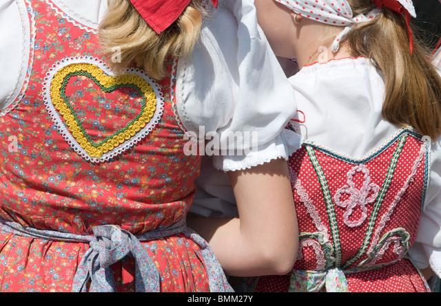 Heart on back of a woman. Karlsbad, Carlovy Vary. Czech republic. - Stock-Bilder