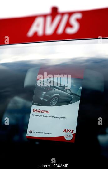 Avis Car Rental Nuremberg Germany