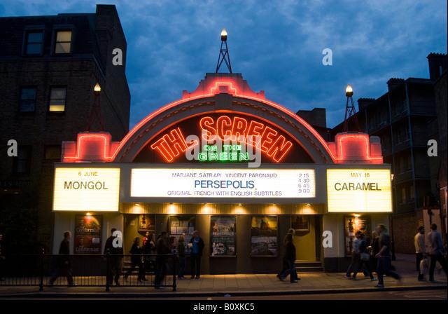 The Screen on the Green cinema on Upper Street, Islington, London England UK - Stock Image