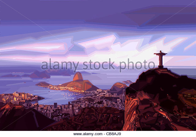 Series City Rio de Janeiro Carnival City urban urbanity Cities city city In - Stock Image