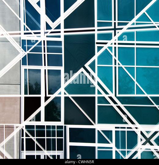 modern architecture,facade - Stock Image