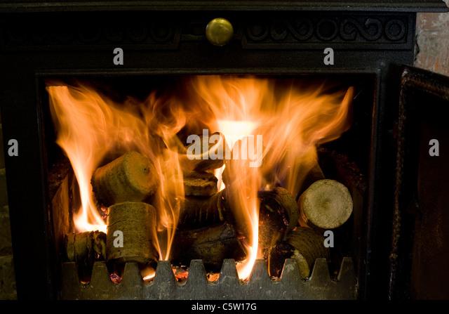 Compressed Wood Logs ~ Freemasons symbol uk stock photos