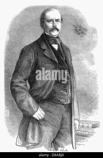 Bismarck 1863 - Stock Image