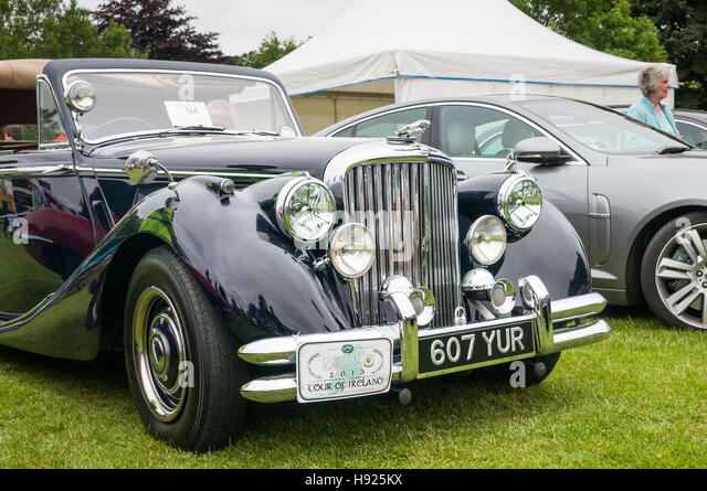 Vintage car show - Stock Image