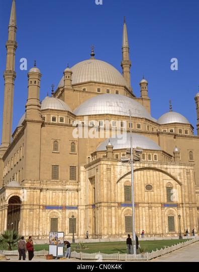 The Saladin Citadel of Cairo, Mokattam Hill, Cairo, Cairo Governorate, Republic of Egypt - Stock Image