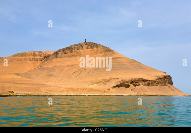 Palomino Islands, Callao, Lima, Peru - Stock Image