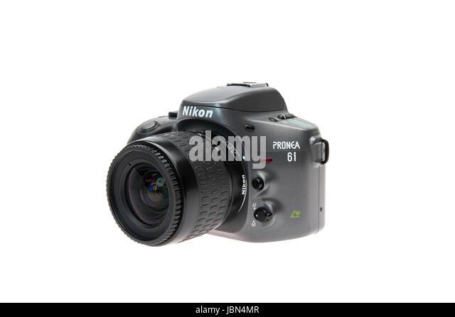 Nikon PRONEA 6i (600i) with IX-Nikkor lens APS film SLR camera released 1996 - Stock Image