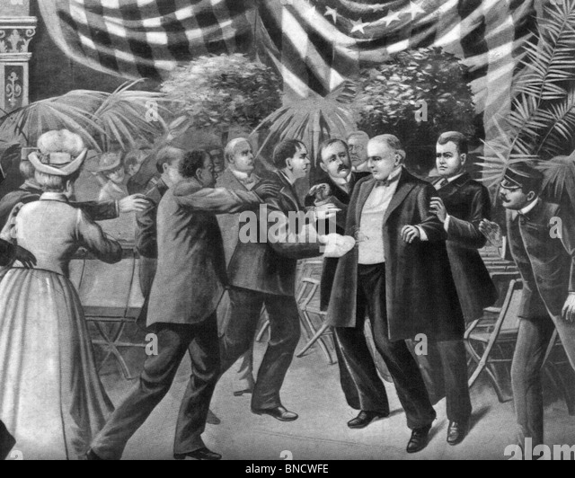 the murder of president mckinley in 1901 The william mckinley assassination occurred on 6th september 1901, at the temple of music in buffalo, new york united states president.