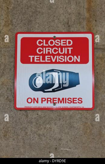 closed circuit television stock photos closed circuit. Black Bedroom Furniture Sets. Home Design Ideas