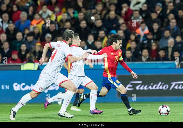 Granada, Spain. 12th Nov, 2016. European Qualifiers Russian World Cup 2018 between Spain vs Macedonia in Los Carmenes - Stock Image