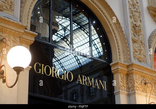 Armani hotel milan stock photos armani hotel milan stock for Giorgio iv milano