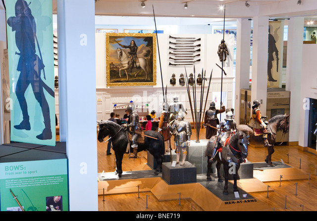 The Royal Armouries Museum, Leeds - Stock Image