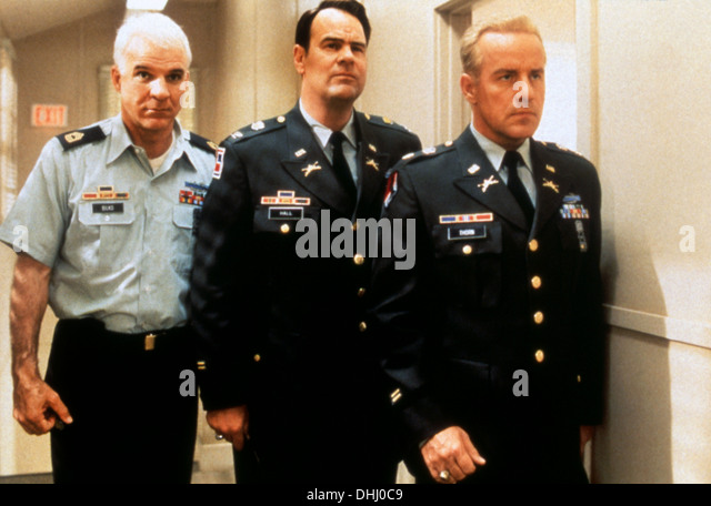 SGT BILKO (1996) STEVE MARTIN, DAN AYKROYD, PHIL HARTMAN, JONATHAN LYNN (DIR) 003 MOVIESTORE COLLECTION LTD - Stock Image