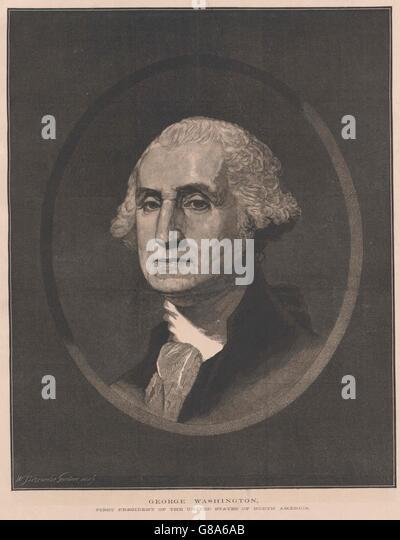 Washington, George - Stock Image