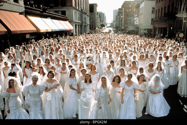 ONE THOUSAND BRIDES THE BACHELOR (1999) - Stock Image