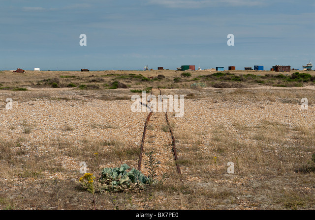 Fishing industry detritus, Dungeness - Stock Image