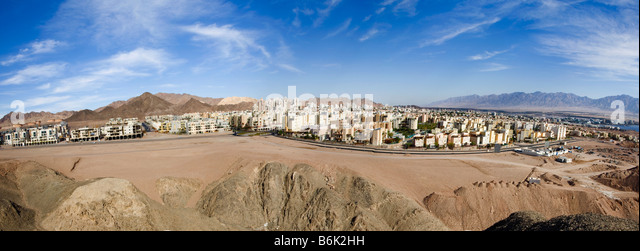Eilat and the Arava Valley - Stock Image