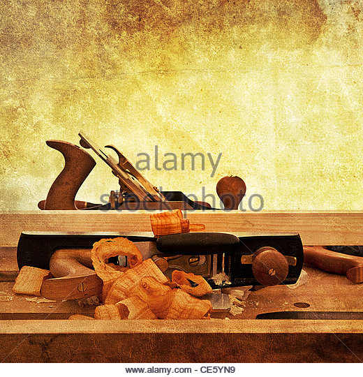 woodwork - Stock Image