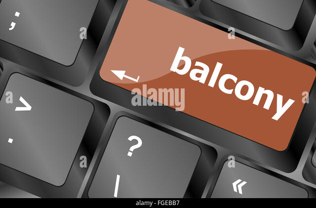 Business growth concept computer stock photos business for Balcony concept