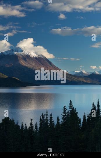 Tutshi Lake, British Columbia, Canada - Stock Image