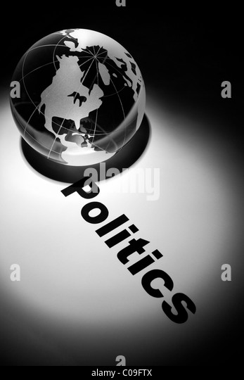 globe, concept of global politics - Stock Image