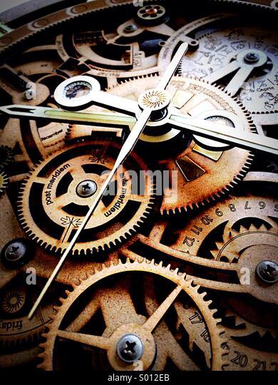 Clock time piece - Stock Image
