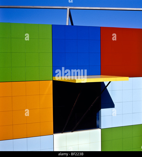 Architectural detail, Australia - Stock Image