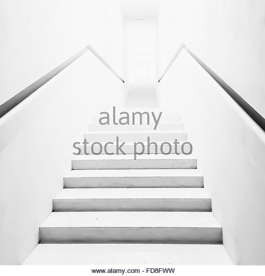 Empty Stairs - Stock Image